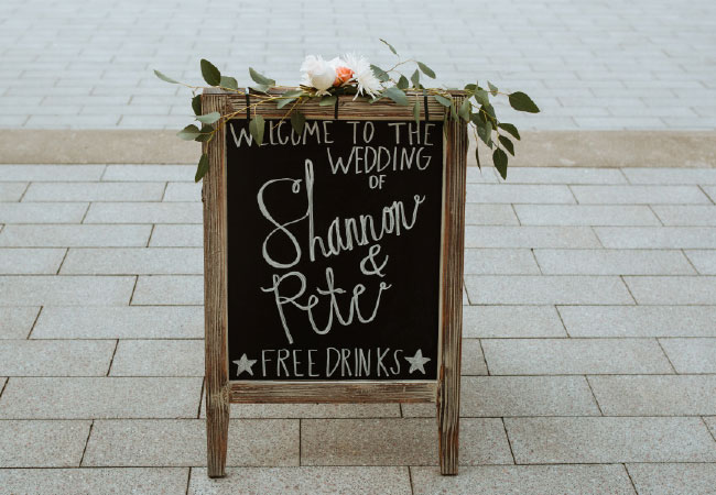 WOW Wedding: Shannon and Pete Weiss