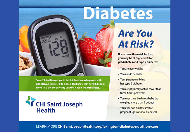 Recognize Signs and Symptoms on Diabetes Alert Day