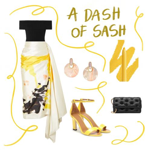 Outfit of the Week: A Dash of Sash