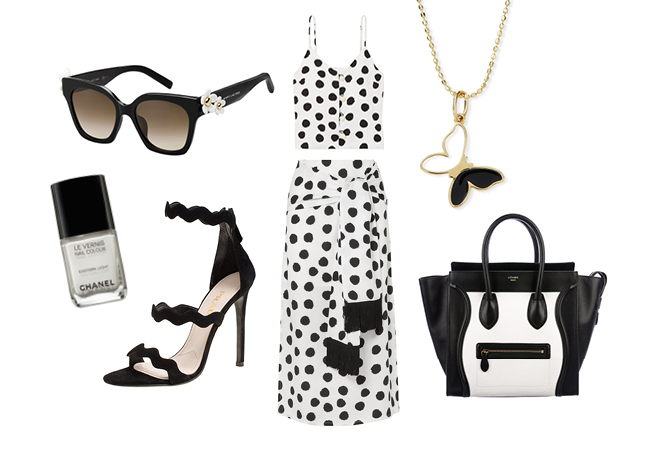 Outfit of the Week: White and Black Magic