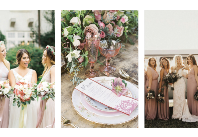 Weddings Unveiled: What's Your Shade of Pink