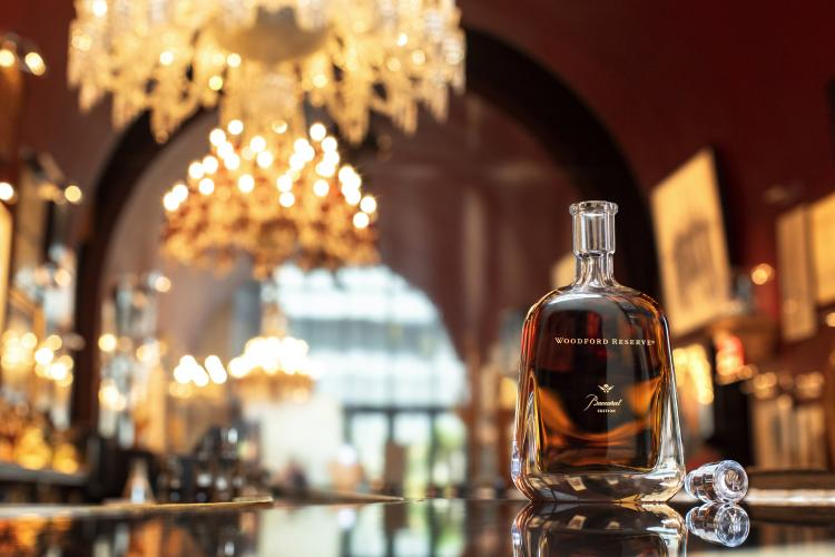 WOODFORD RESERVE LAUNCHES BACCARAT EDITION