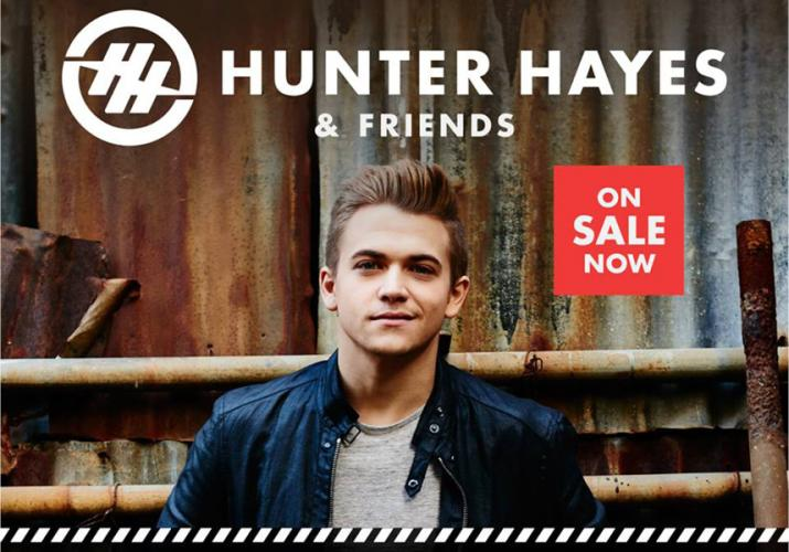 Hunter Hayes to perform during  Rolex Kentucky 3DE