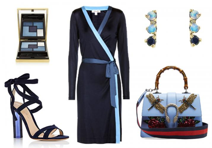 Outfit of the Week: Shades of Blue