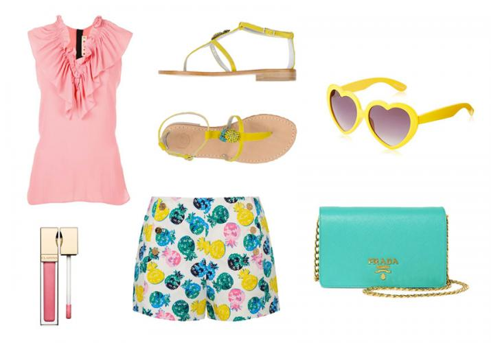 Outfit of the Week: Pineapple Punch