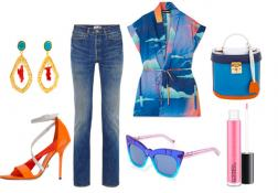 Outfit of the week: Blue Skies