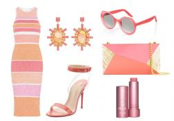 Outfit of the Week: Raspberry Sorbet
